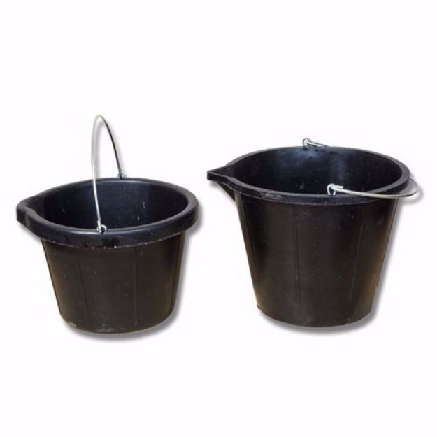 Picture of Recycled Rubber Bucket - 14LTR