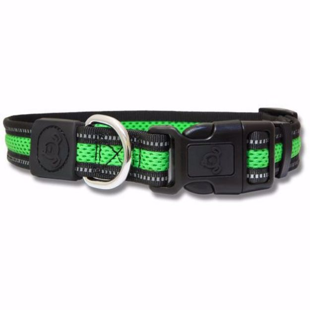Picture of Double Layer Mesh dog collar Reflective - Large