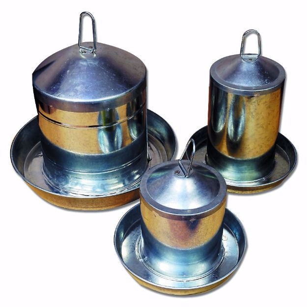 Picture of Stainless Steel Poultry Drinker - 3LTR