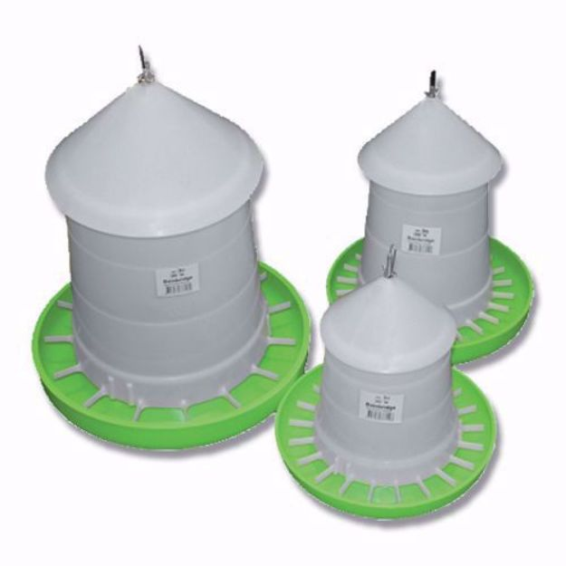 Picture of Poultry Feeder with Lid - 3KG