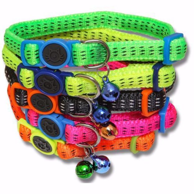 Picture of Nylon Cat Collar, With Safety Buckle