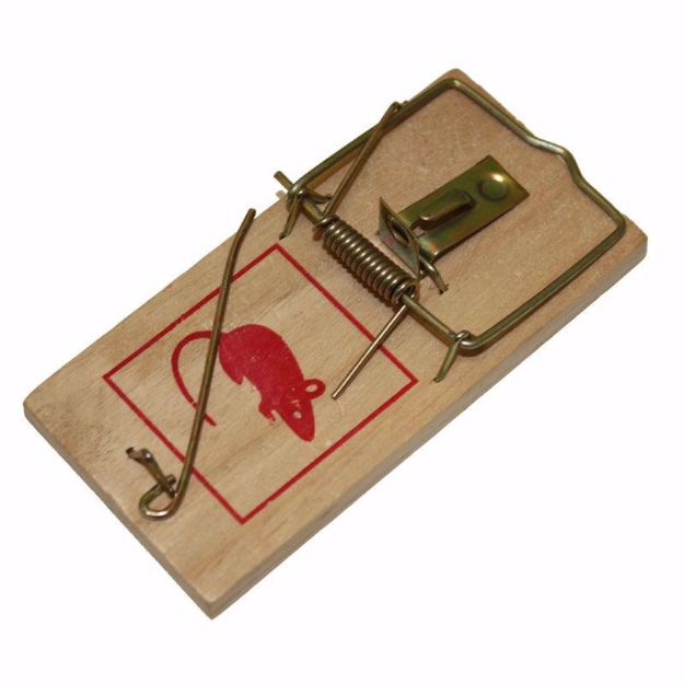 Picture of Rat Wood Snap Trap