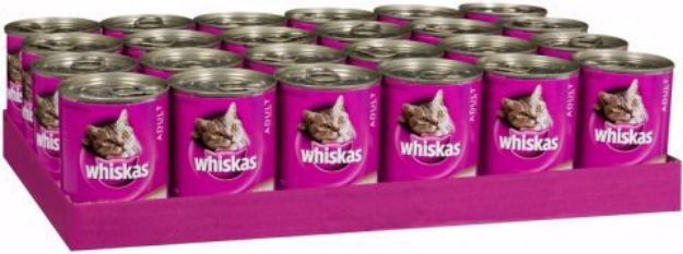 Picture of Whiskas Rural Mixed Slab 24x400 gram