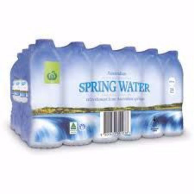 Picture of Spring Water 24 x 600ml Pack