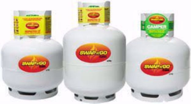 Picture of Origin Gas 4KG (Cylinder & Gas)