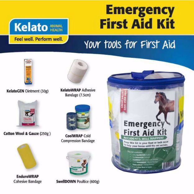 Picture of Kelato Equine Emergency First Aid Kit