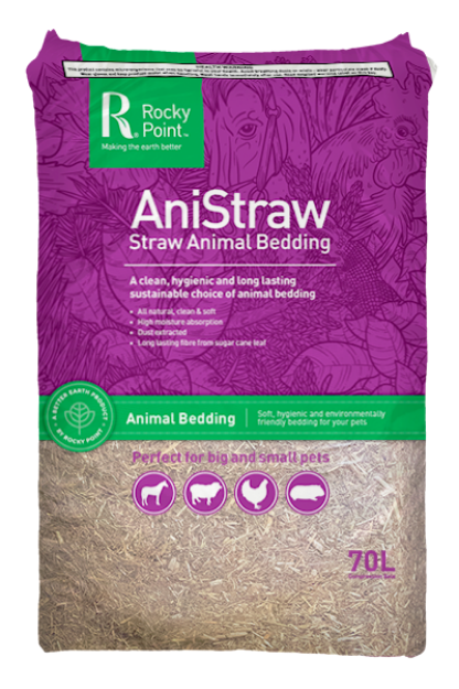 Picture of Rocky Point AniStraw Animal Bedding 70L