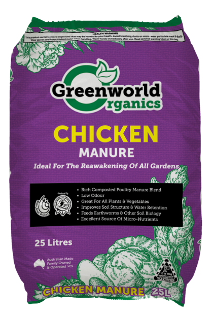 Picture of Greenworld Organics Chicken Manure 25L