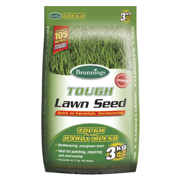 Picture of Brunnings Tough Lawn Seed 3KG