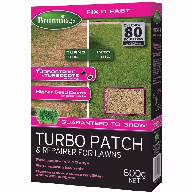 Picture of Brunnings Turbo Patch & Repair for Lawns 800g