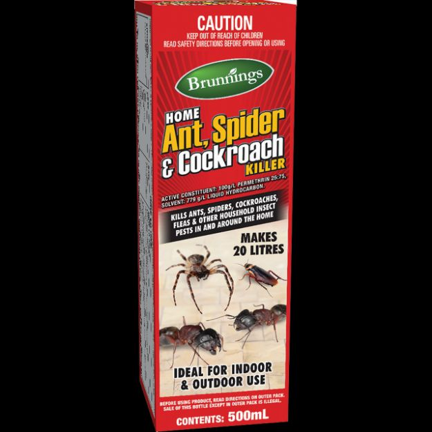 Picture of Brunnings Ant, Spider & Cockroach Killer 200ml
