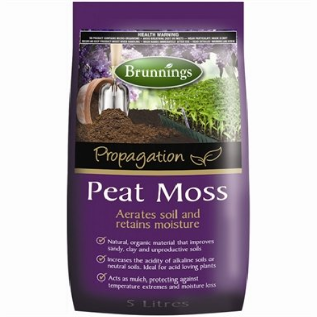 Picture of Brunnings Peat Moss 5L