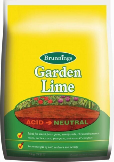 Picture of Brunnings Garden Lime 3kg
