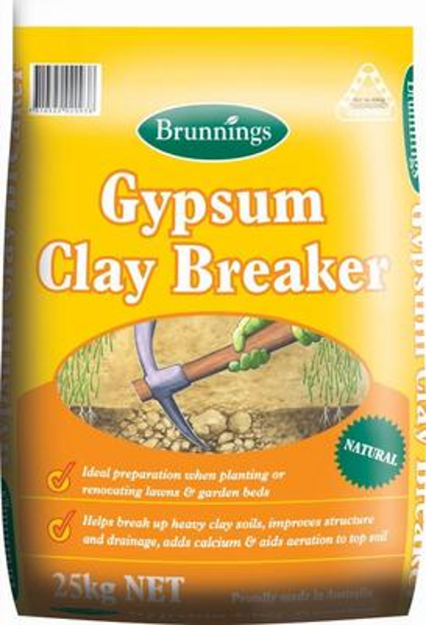 Picture of Brunnings Gypsum Clay Breaker 25kg