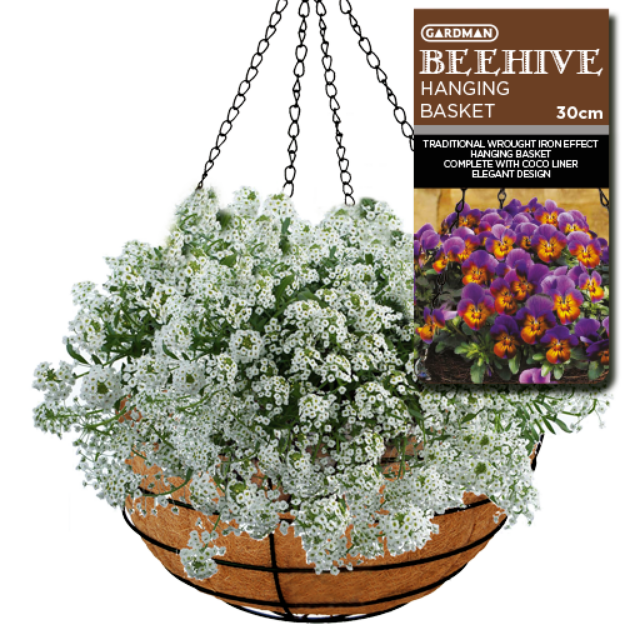 Picture of Beehive Hanging Basket 30cm