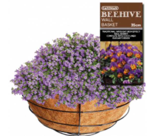 Picture of Beehive Hanging  Basket 35cm