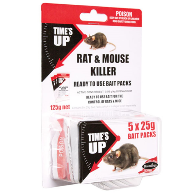 Picture of Rat & Mouse Killer (5PK) 125g