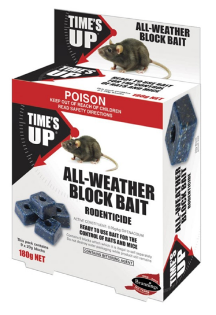 Picture of All-Weather Block Bait 540g (27PK)