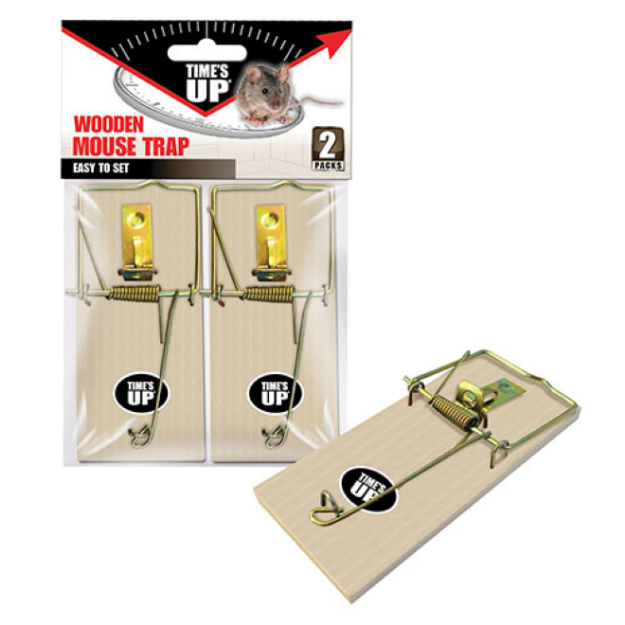 Picture of Wooden Mouse Trap (2PK)