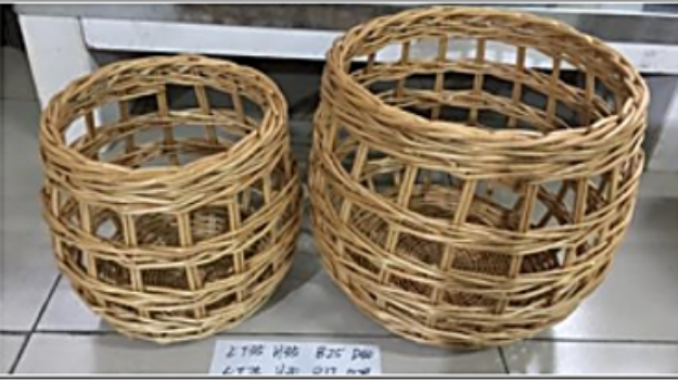 Picture of Shedda Woven Baskets set of 2