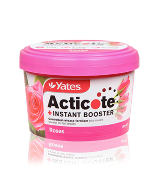 Picture of Yates Acticote + Instant Booster for Roses & Flowering Plants 500gm