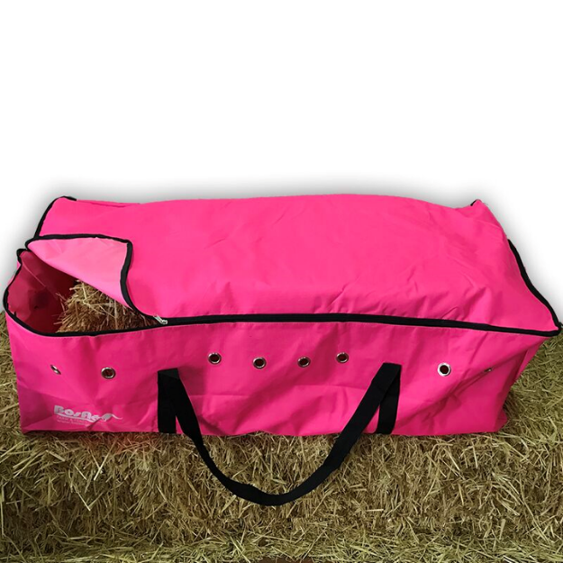 Picture of Pink Hay Bale Bag with Zip