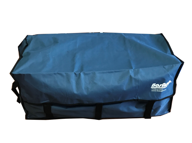 Picture of Blue Hay Bale Bag with Velcro