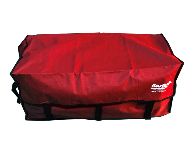 Picture of Red Hay Bale Bag with Velcro