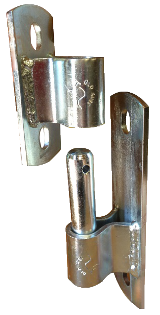 Picture of 16mm Bolt On Hinge (Pin and Socket)