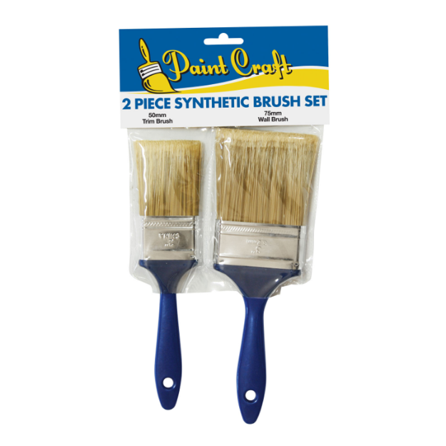 Picture of Paint Craft 2 Piece Synthetic Brush Set