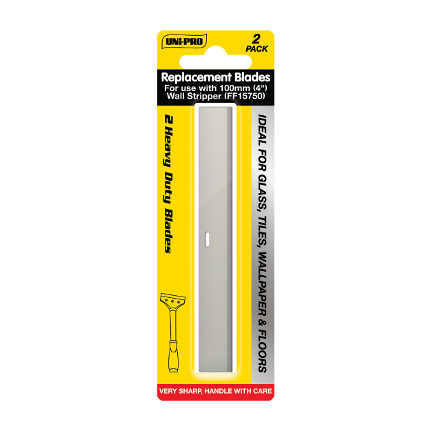 Picture of UNi-PRO 4″ Wall Stripper Replacement Blades 2 pcs