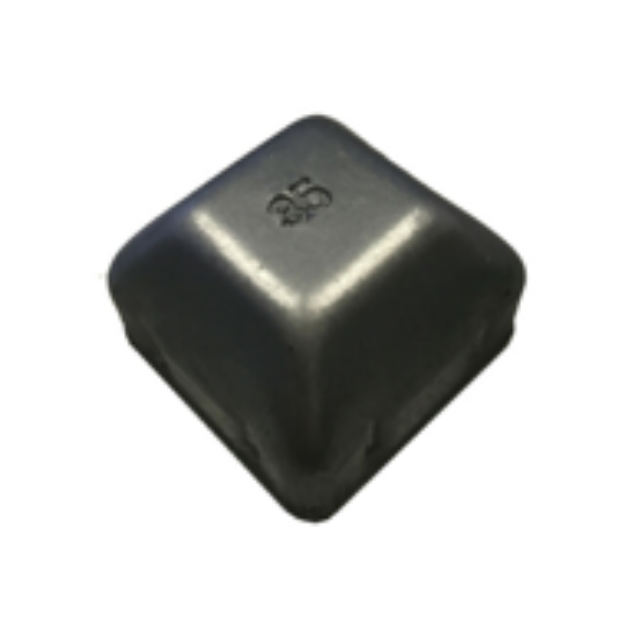 Picture of Square Galvabond Post Cap 35mm x 35mm