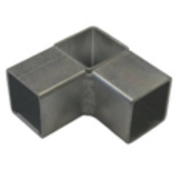 Picture of 3 Way Steel Connector Joiner for 25 x 25mm Square Aviary Frame