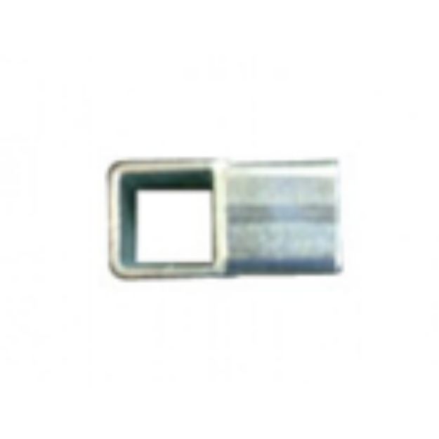 Picture of 2 way Steel Connector Joiner for 25 x 25mm Square Aviary Frame