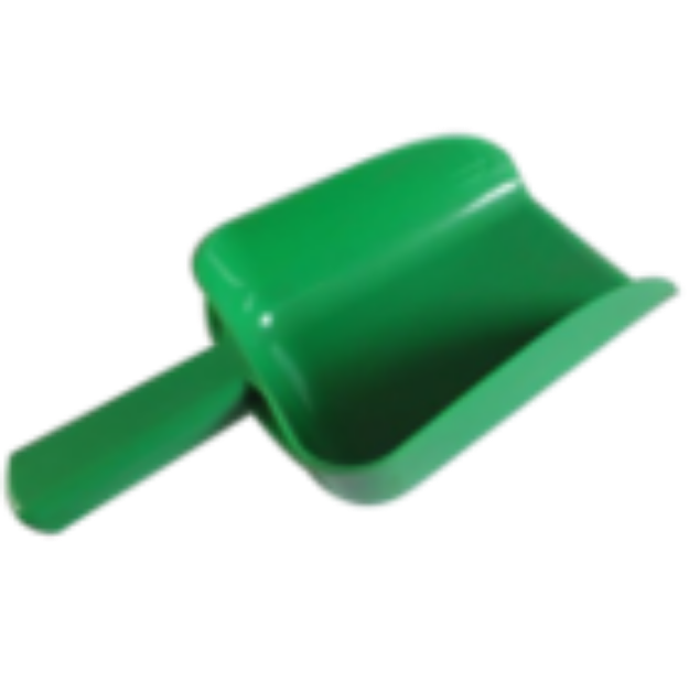 Picture of 1.5L Plastic Feed Scoop Green