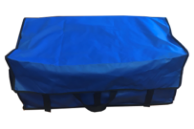 Picture of Blue Waterproof Hay Bag with Velcro