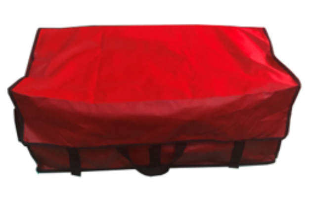 Picture of Red Waterproof Hay Bag with Velcro
