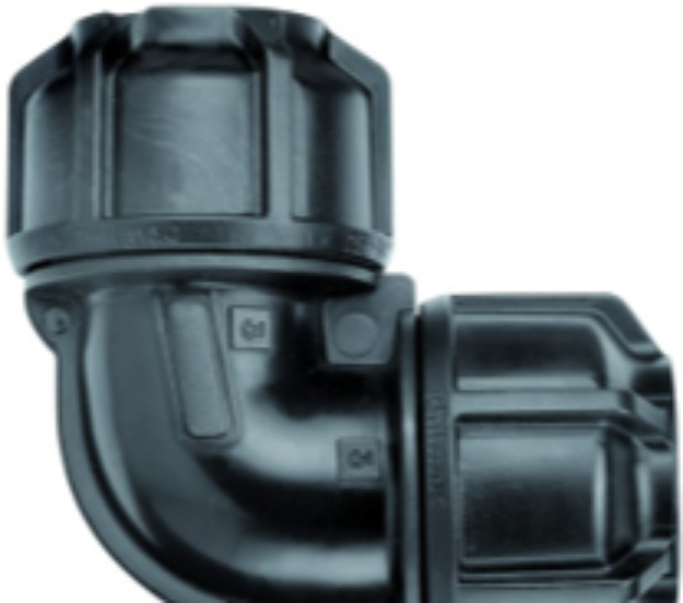 Picture of Philmac 25mm Metric Poly Pipe Elbow
