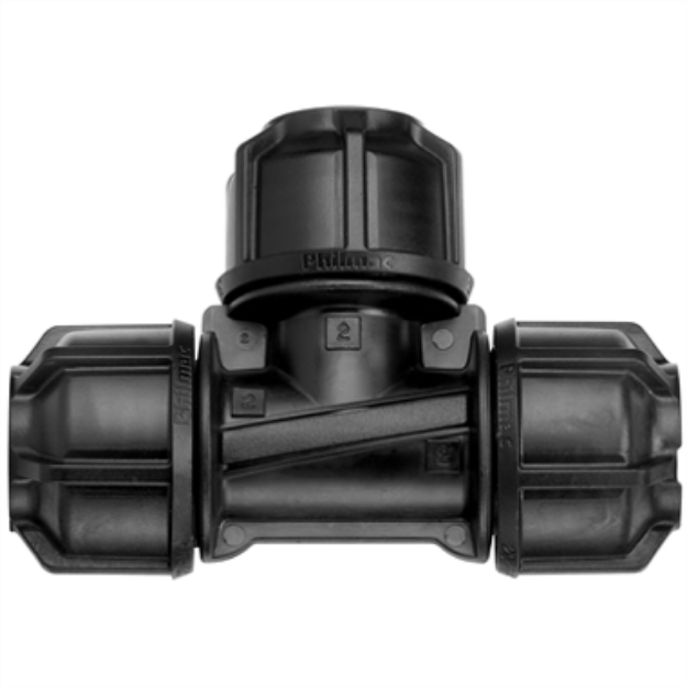 Picture of Philmac 25mm Metric Poly Pipe Tee