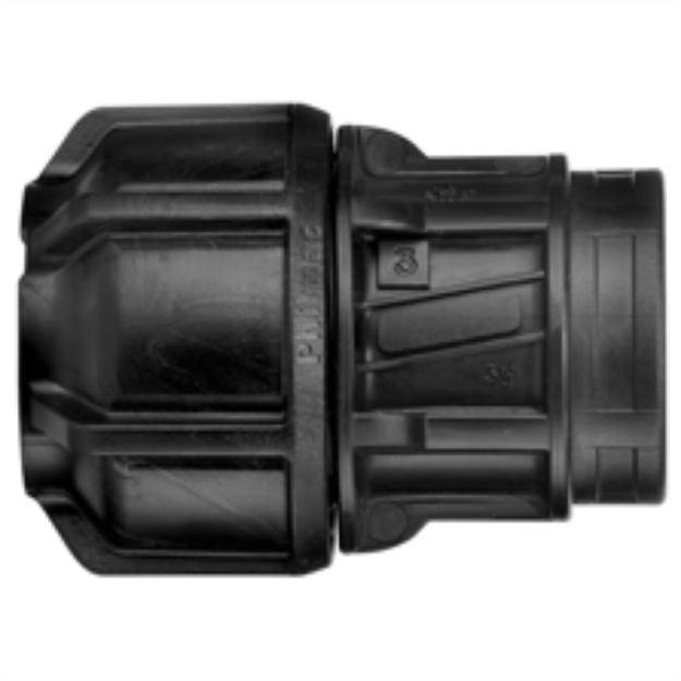 "Picture of Philmac Female End Connector 32mm Poly x 1-1/4"" BSP"