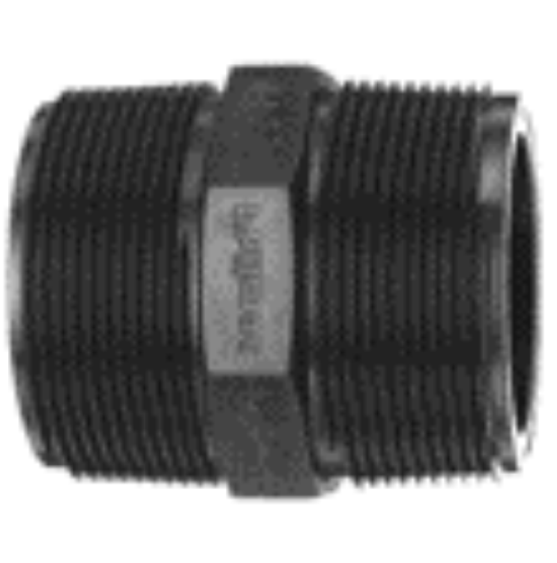 "Picture of Philmac 1 1/2"" x 1"" Threaded BSP Pipe Nipple"
