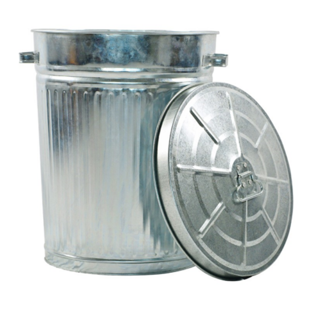 Picture of Garbage Bin 55L Galvanised