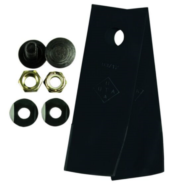"""Picture of Tuff Cut Mower Blades and Bolt Set Honda 19"""""""
