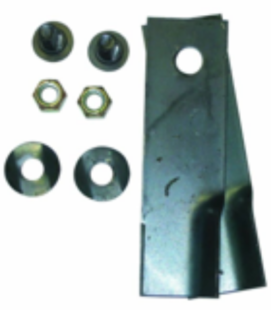 """Picture of Tuff Cut Mower Blades & Bolt Set Rover 18"""""""